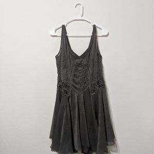 Free People Sheer Dress with Slip size XS